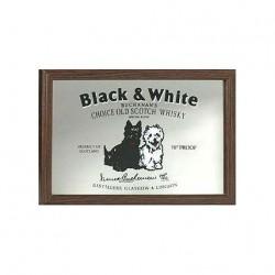 Spegel Black and White  22x32