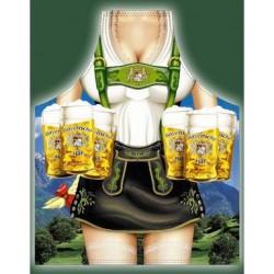 Förkläde Bayersk Kvinna