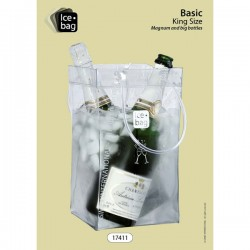 Ice bag Transparent XL