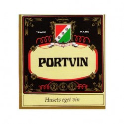 Etikett Portvin