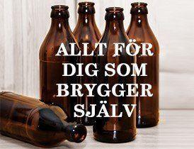 Hembryggning öl och vin