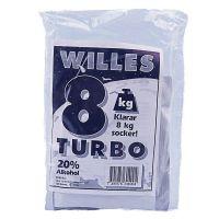 Willes 8 kg Turbo 50-pack
