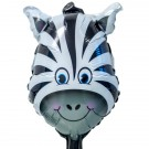 Folieballong Mini Zebra