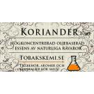 Snusessens Koriander 10 ml