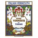 Lyxvinetikett. Vermouth