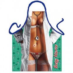 Förkläde Sexig Sjuksköterska