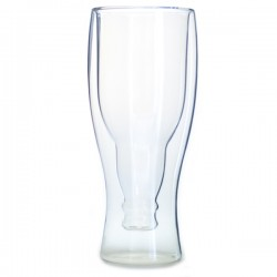 Glas med Flaska 450 ML