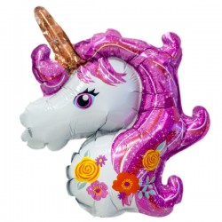 Folieballong Mini Unicorn