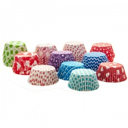 Cake Cups 11 cm Mixed 1200-pack