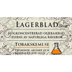 Snusessens Lagerblad 10 ml