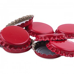 Ölkapsyler Röd 70-pack