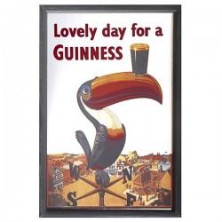Barspegel Guinness Toucan 22x32