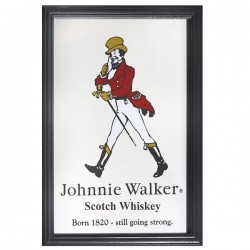 Barspegel Johnnie Walker 22x32