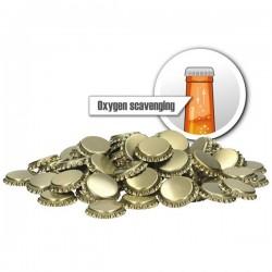 Ölkapsyler Syreabsorberande Guld 250--pack