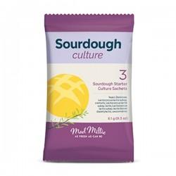 Mad Millie Surdegsjäst och kultur 3-pack