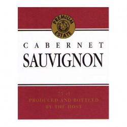 Etikett. Cabernet Sauvignon