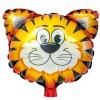 Folieballong Mini Tiger