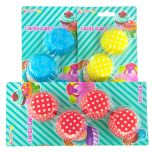 Cake Cups 8 cm Mixade 100-pack